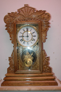 magnifique horloge antique clock  New Haven Camden 1907