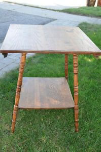 Wooden Square Table - great for Chalk painting! Cambridge Kitchener Area image 2