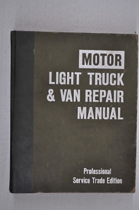 Motor Light truck & Van Repair Manual 1977-84