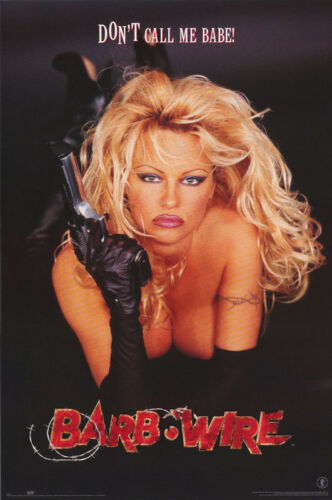 POSTER : MOVIE REPRO:  BARB WIRE - PAM ANDERSON   FREE SHIPPING ! #2983  RC3 i