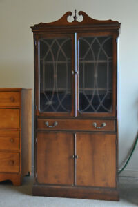 Antique dining room buffet