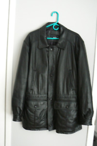Men,s leather jacket