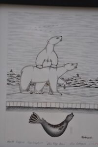 Inuit Paintings from Cape Dorset