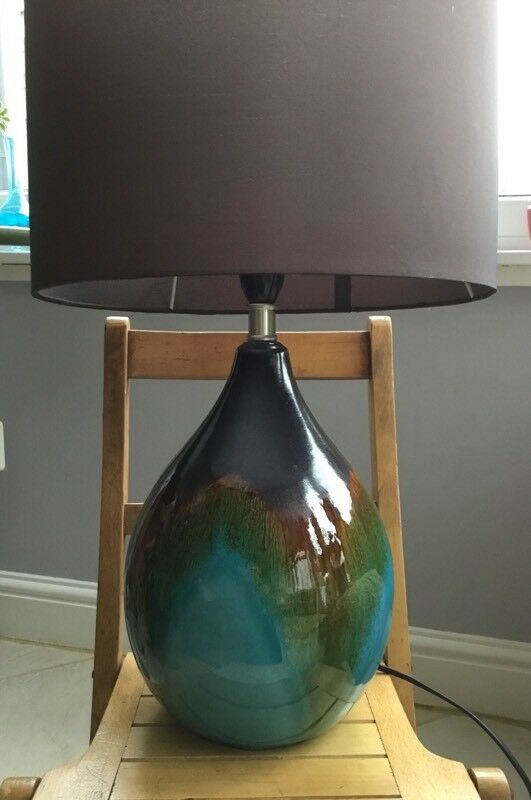 Ceramic Table Lamp and Shade (Next)
