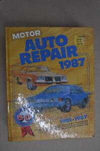 Motor Auto Repair Manual 1981-1987