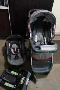 Safety 1st Carseat and Stroller with onboard 35- complete set Kitchener / Waterloo Kitchener Area image 1