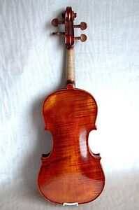 Old Italian Label Concert Violin Bergonzi Beautiful Sound 4/4 Listen!