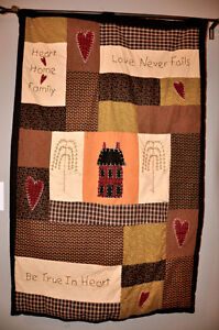 Large Quilted Wall Hanging