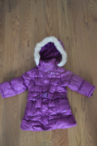 Osh Kosh Purple Winter Coat Size 2T