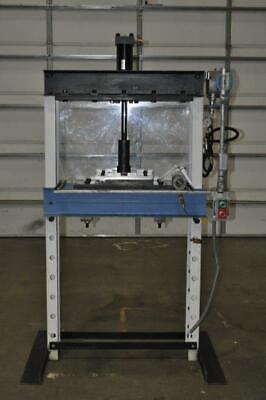 20 Ton H Frame Hydraulic Press 7 Stroke 0-44 Daylight 33 X 11.5 Fb Bed