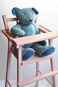 High chair (Doll-sized)