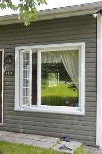 porte et fenêtres usagées