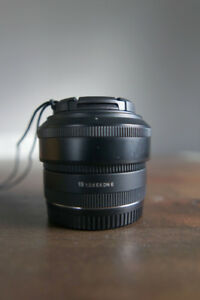 Sigma 19mm f2.8 EX DN Lens for Sony E Mount Camera - MINT