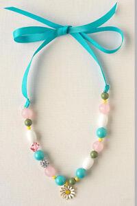 Stella and Dot Girls Little Dottie Necklace & Bracelet Set