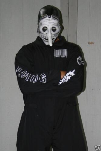 Slipknot 1st Tour (Black) Jumpsuit Black&white Barcode New! *You Pick The Size*