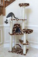 "FELINE GOOD! 66"" CAT TREE ON SALE! HST & FREE SHIP INCL CANADA"
