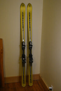 Volkl Vertigo 177 with Rossignol Axium 120 bindings
