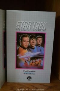 Star Trek the Television Series VHS Movies