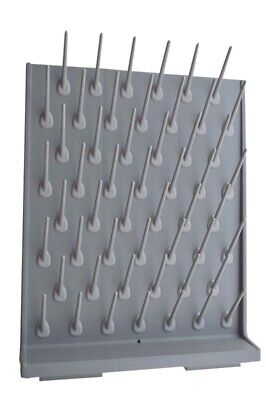 1 Pc Lab Supply Wall Desk Drying Rack 52 Pegs For Educationlab Equipment Newest