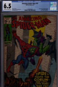 AMAZING SPIDERMAN #97 CGC 6.5 DRUG ISSUE.  CCA NOT APPROVED HOT