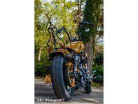 Harley Davidson wood look sportster