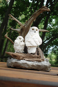 Hand Crafted Snowy Owls Kingston Kingston Area image 8