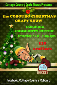 Cottage Country Craft Shows:  Cobourg Christmas Craft Show