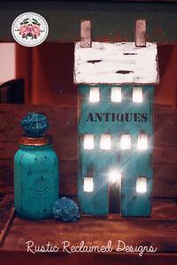 Adorable light up Antiques house!