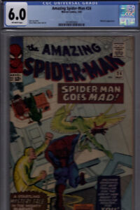 AMAZING SPIDER-MAN #24 6.0 CGC GRADED. MYSTERIO APPEARANCE. HOT