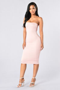 aaf87f4e581 Fashion Nova tube dress