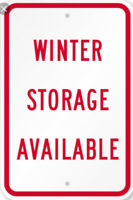 ⭐️ WINTER STORAGE ⭐️