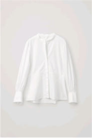 Cos Size 44 white bell sleeve shirt