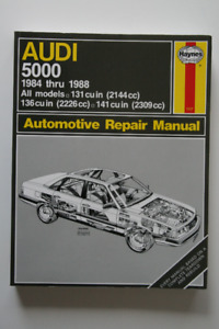 AUDI 5000 1984-1988 Repair Manual Haynes