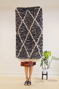 High Quality Wool Moroccan Rug - area rug, hand knotted, berber
