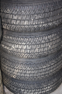 4- 275/70R18 Michelin LTX 2  2016 Ford 350 Takeoffs.