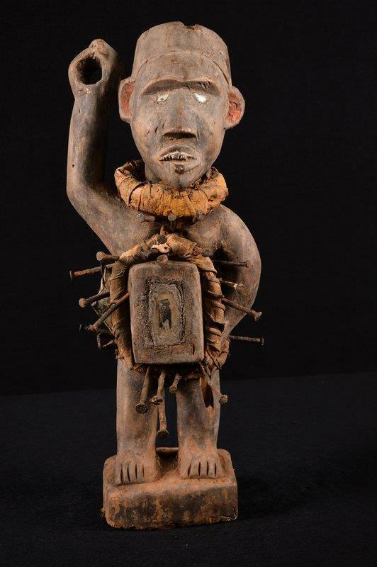 13983 A Rare Nkisi Statue DR Congo