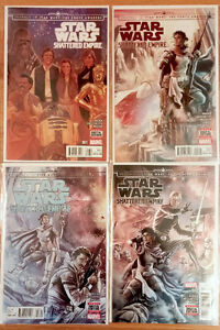 Star Wars: Shattered Empire #1-4 complete mini Marvel NM