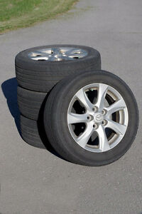"16"" Mazda Alloy Rims with Tires"