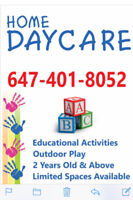 In-Home Daycare / Childcare - Brampton - Mayfield & Creditview