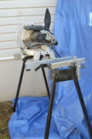 """Craftsman 10"""" chop saw and stand"""