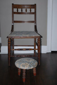 Chaise & tabouret / Chair & Stool