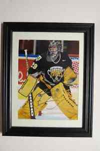 M.A. Fleury Autographed and Framed 11x14 with Screaming Eagles