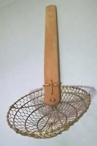 Bamboo Skimmer/Strainer, The Spider 6-Inch Wire Strainer