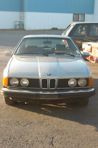 V BMW e24 635CSi Coupe Built 07 1986 M30 6 Cyl Auto 0613736