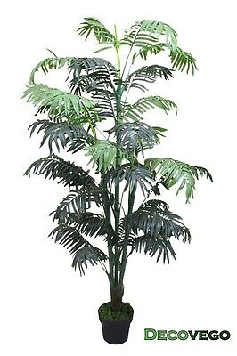 Palmizio Palma Areca Pianta Albero Artificiale 170cm Decovego