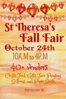 St Theresa's Halloween Fair October 24th 10-4