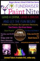 Paint Nite Nursery School Fundraiser