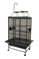 "32"" Parrot Cage with Play Pen on Top"