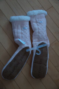 Cozy Slipper Socks - Brand New with Tags