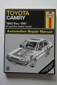 TOYOTA Camry 1983-1991 Repair Manual Haynes